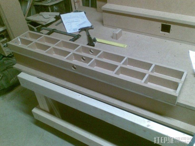 AXIS数控机床 3D模型  图9