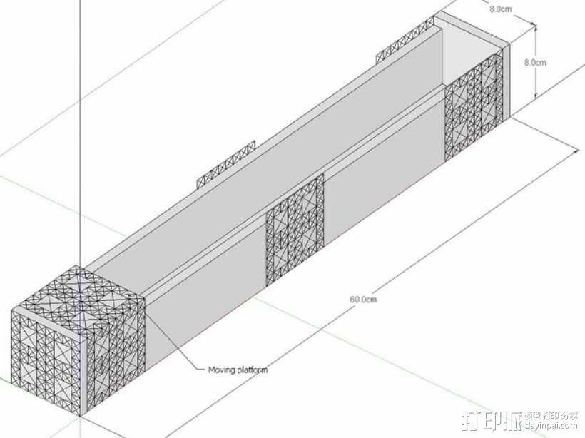 数控机床系统组件 3D模型  图1
