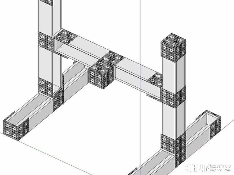 数控机床系统组件 3D模型  图3