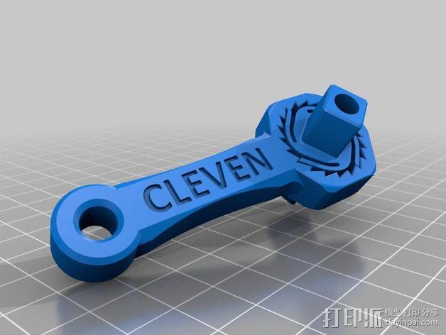 棘轮 3D模型  图3