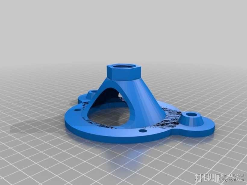 打磨机 机座 3D模型  图12