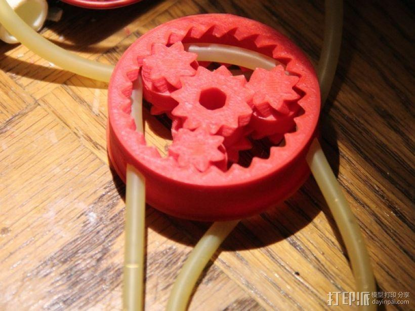 齿轮形软管泵 3D模型  图3
