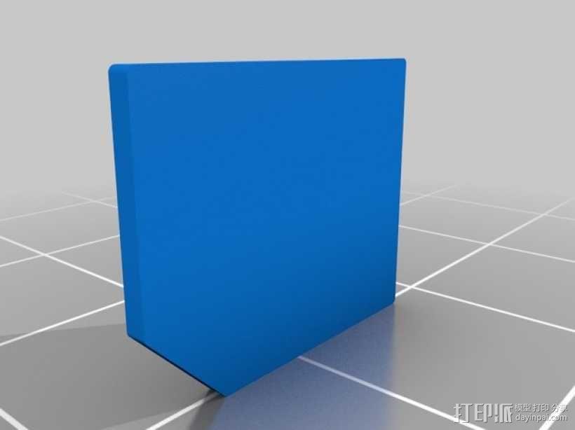 SIM卡套 3D模型  图2
