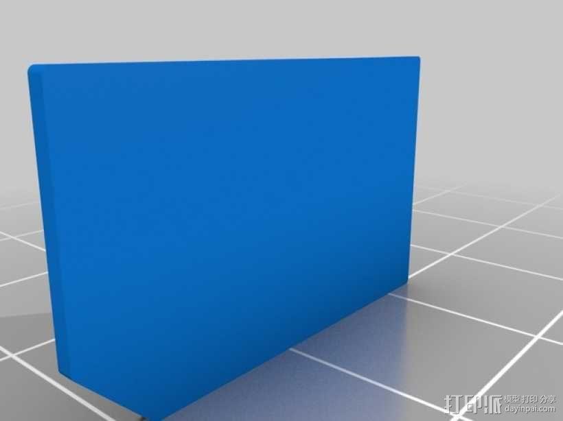 SIM卡套 3D模型  图4
