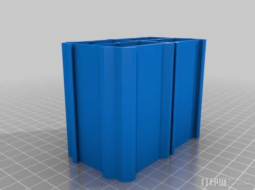 分类盒 3D模型  图4