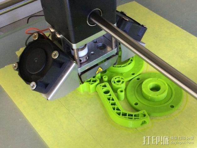 微型钓竿 3D模型  图7