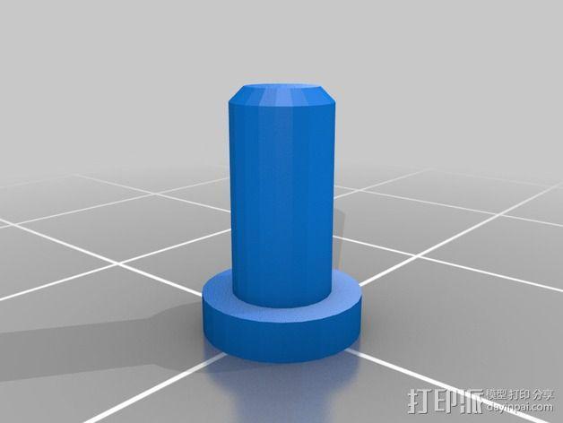 微型钓竿 3D模型  图10