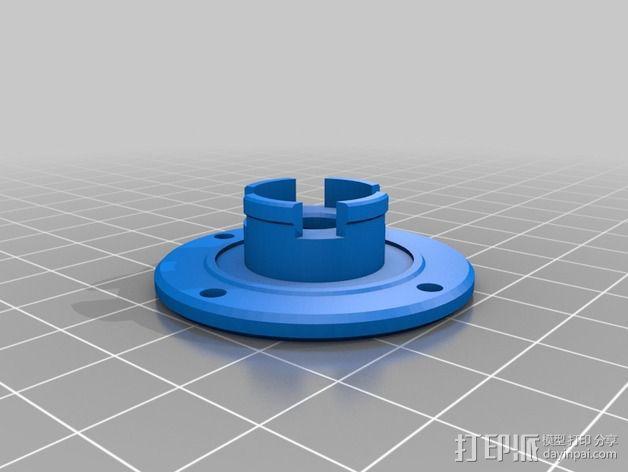 微型钓竿 3D模型  图11