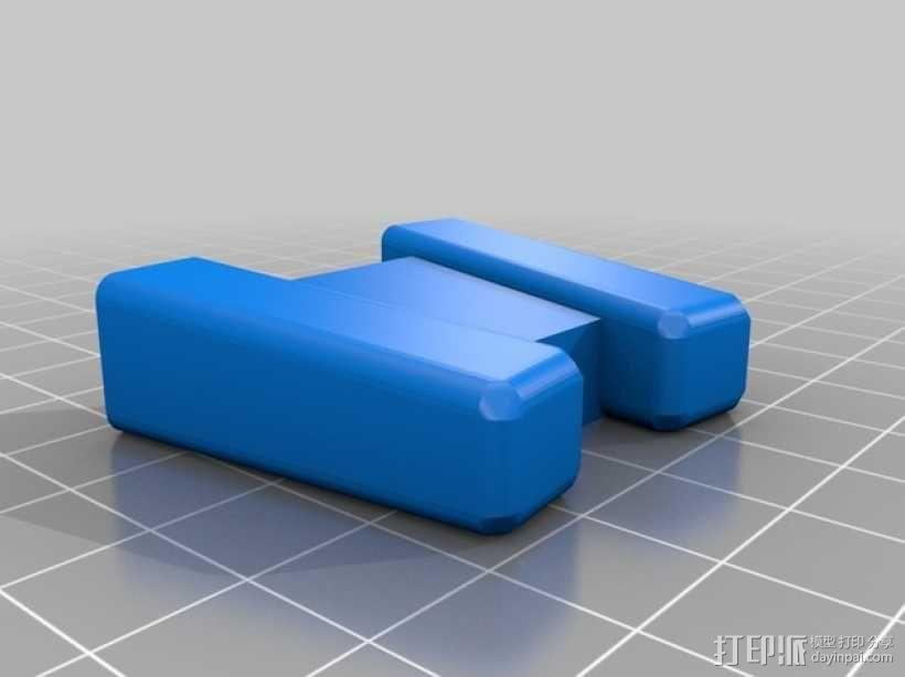 LED灯测试钳 3D模型  图3