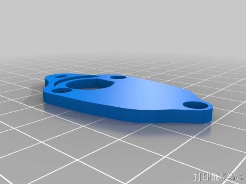 LED灯测试钳 3D模型  图4