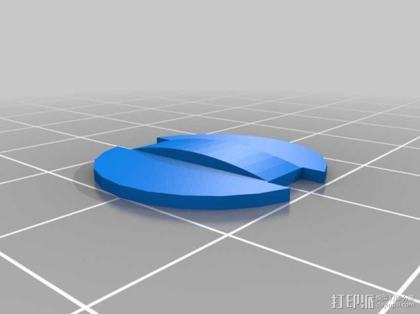 LED灯测试钳 3D模型  图2