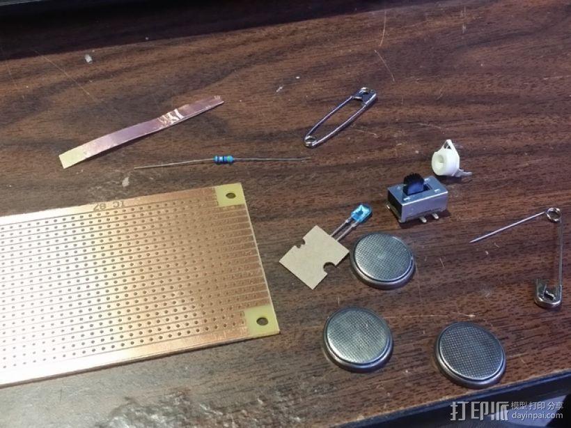 LED灯测试钳 3D模型  图7