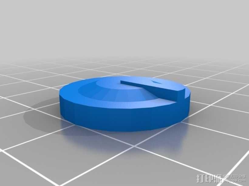 LED灯测试钳 3D模型  图5
