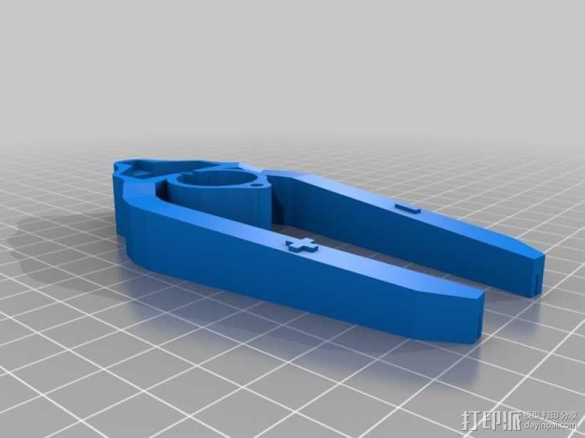 LED灯测试钳 3D模型  图6