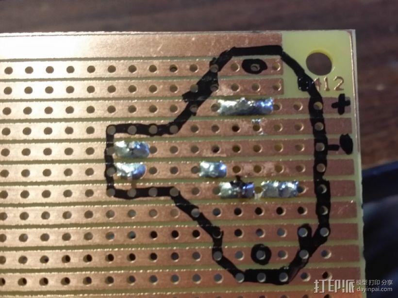 LED灯测试钳 3D模型  图9