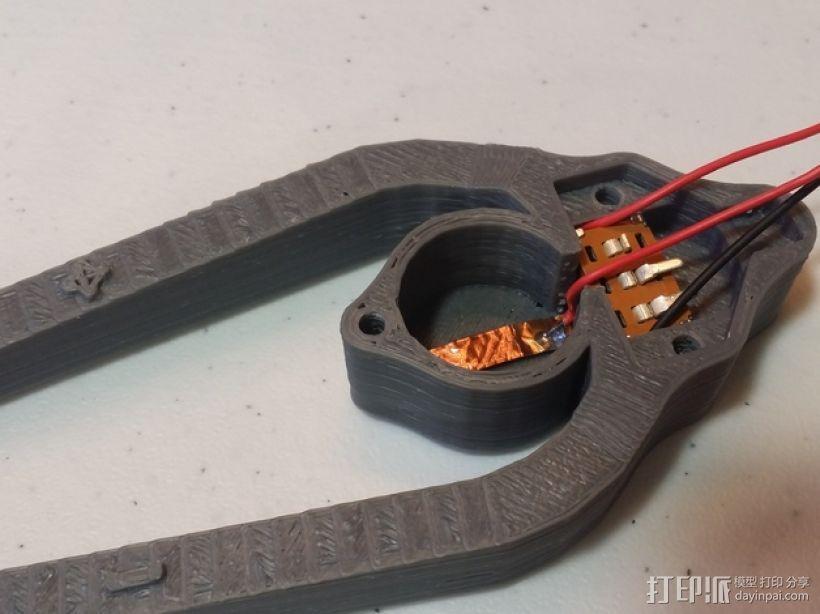 LED灯测试钳 3D模型  图13