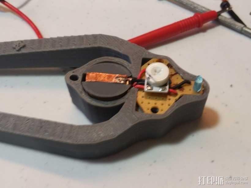 LED灯测试钳 3D模型  图19