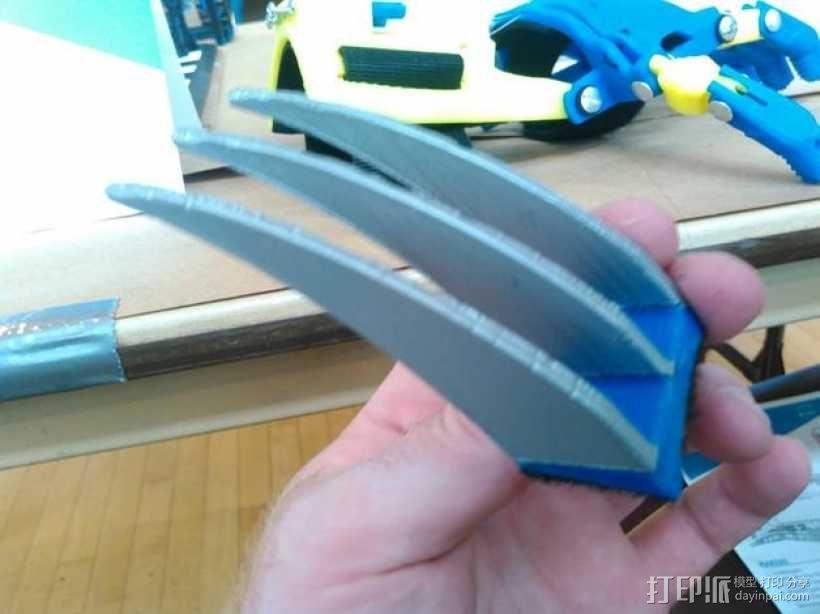 狼爪 假肢 3D模型  图3