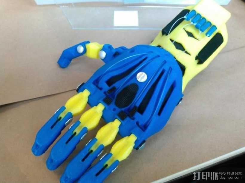 狼爪 假肢 3D模型  图4