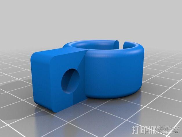 工作灯 3D模型  图2