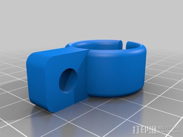 工作灯 3D模型  图3