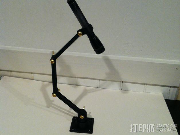 工作灯 3D模型  图1