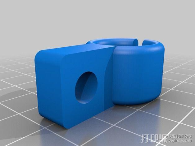 工作灯 3D模型  图4