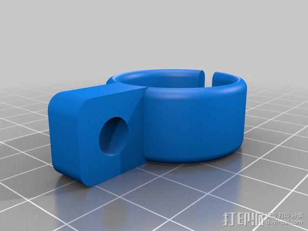 工作灯 3D模型  图5
