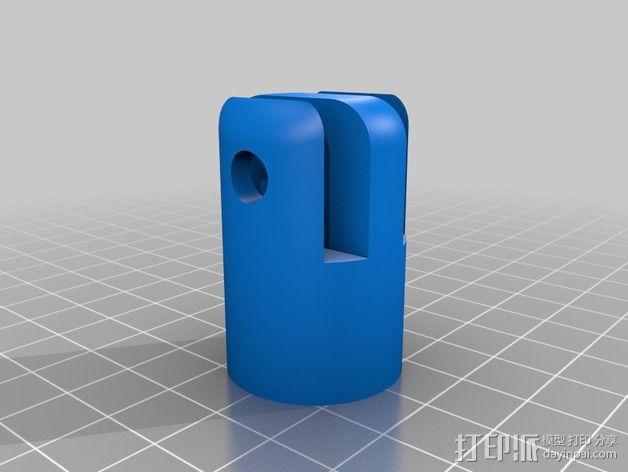 工作灯 3D模型  图7