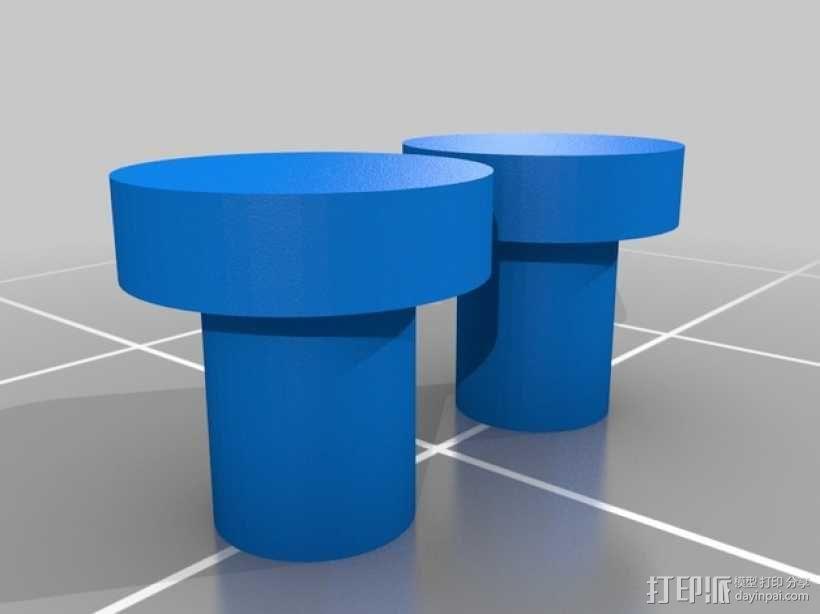 美工刀 3D模型  图3
