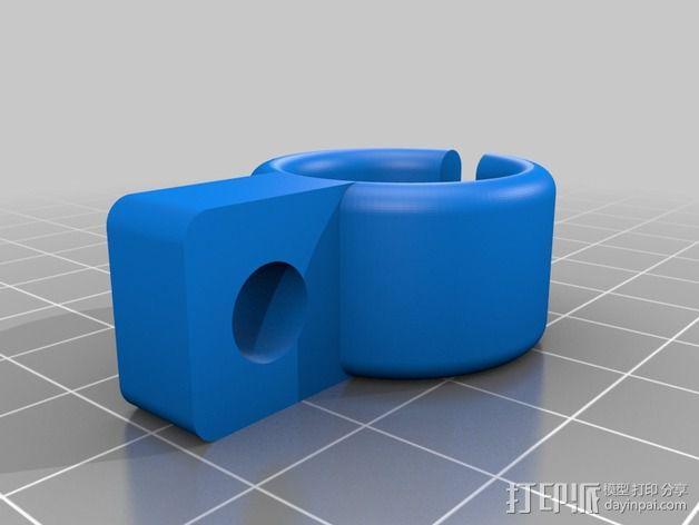 工作灯 升级版 3D模型  图6
