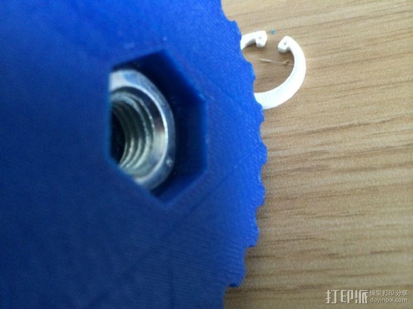 弹簧环 3D模型  图4
