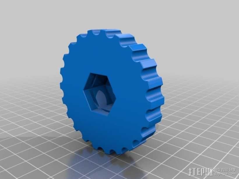 弹簧环 3D模型  图3