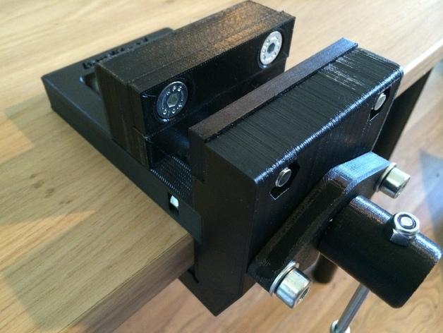 台式虎钳 3D模型  图8