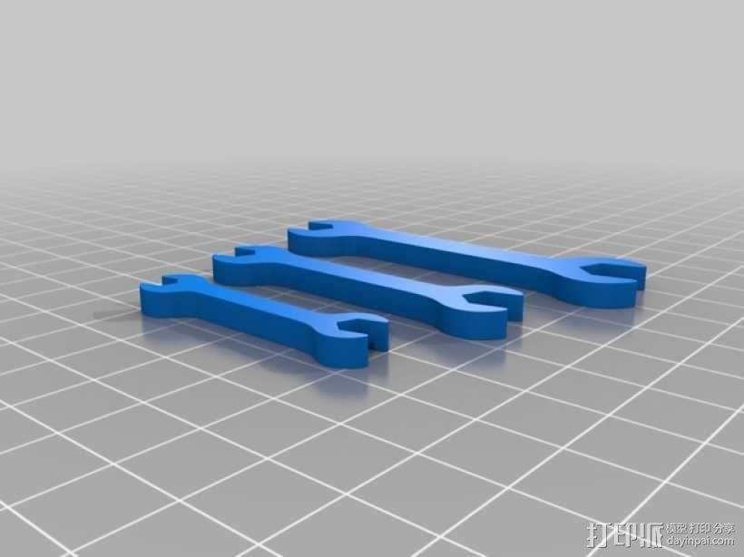 扳手 套组 3D模型  图2