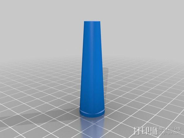 锉刀柄 3D模型  图3