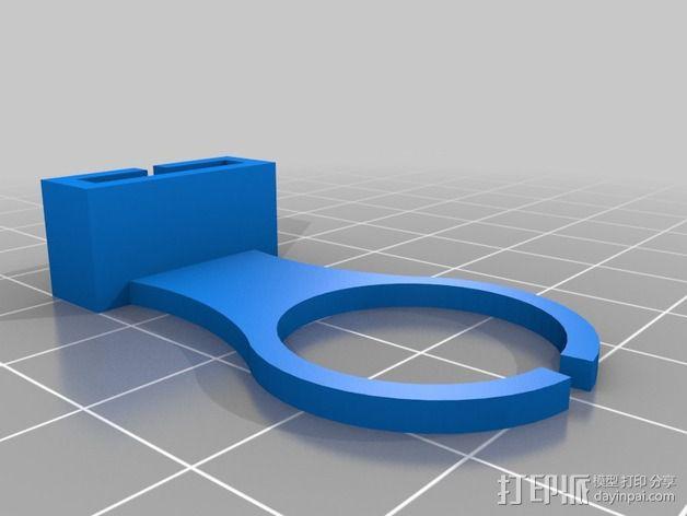 打磨机挡板 3D模型  图5