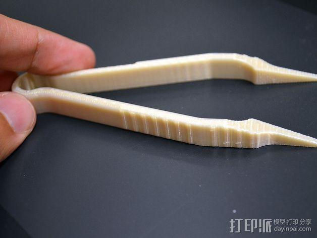 镊子 3D模型  图3