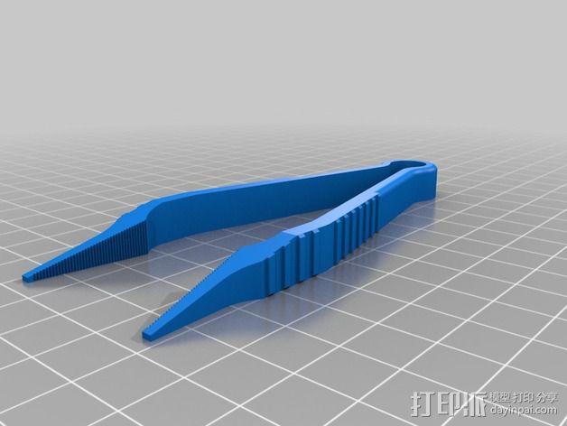 镊子 3D模型  图2