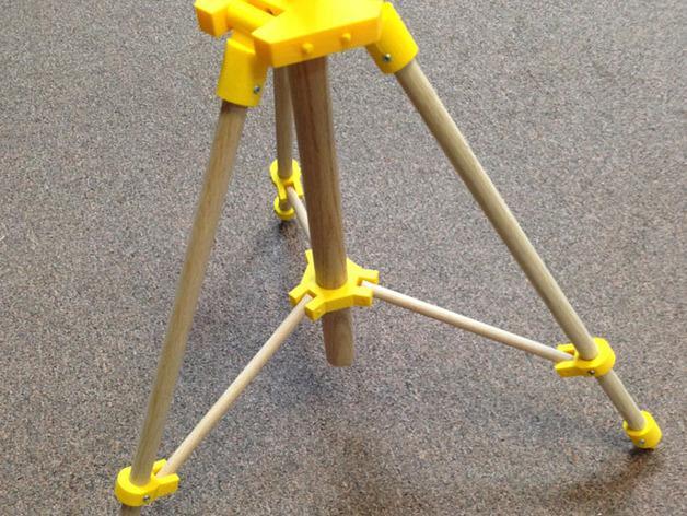 三脚架 3D模型  图2