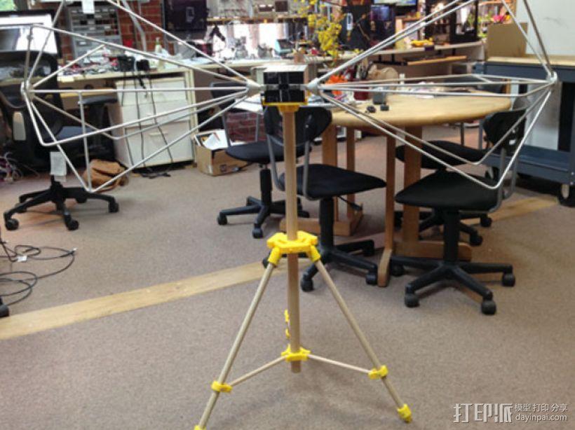 三脚架 3D模型  图1