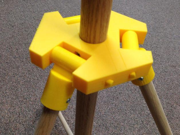 三脚架 3D模型  图4