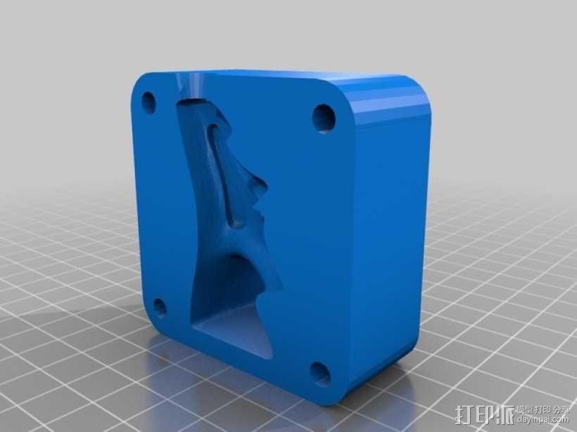 人物雕像模具 3D模型  图5