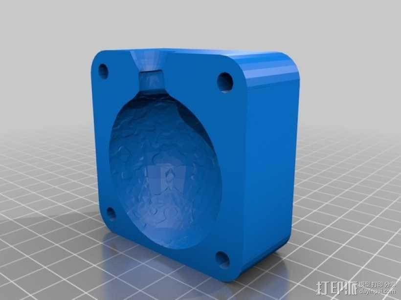 人物雕像模具 3D模型  图6