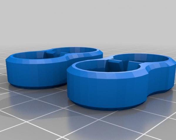 电池帽盖 3D模型  图3