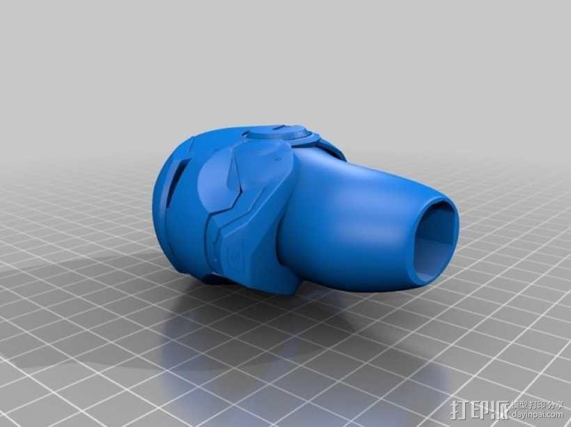 钢铁侠手柄 3D模型  图1