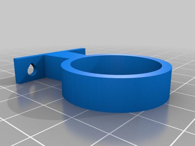 打孔机连接器 3D模型  图2