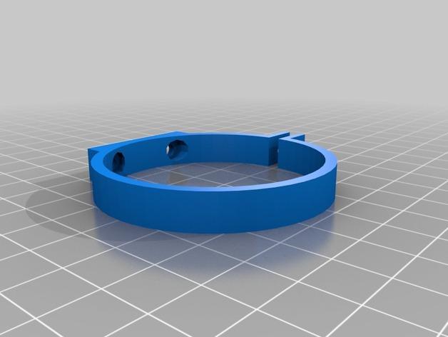 打孔机连接器 3D模型  图3