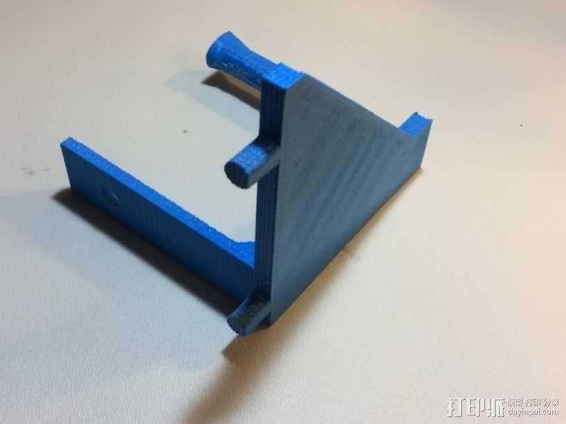 焊辊支架 3D模型  图3