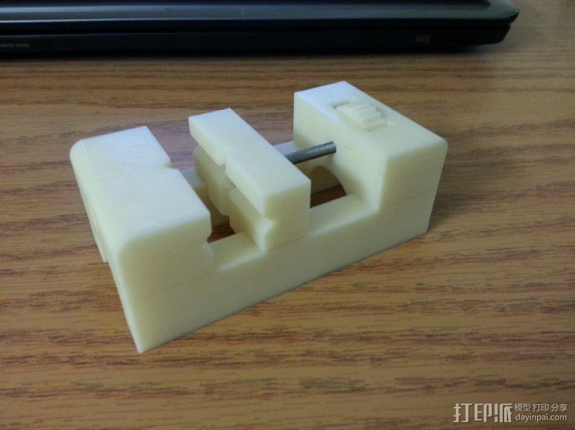 台钳 3D模型  图1